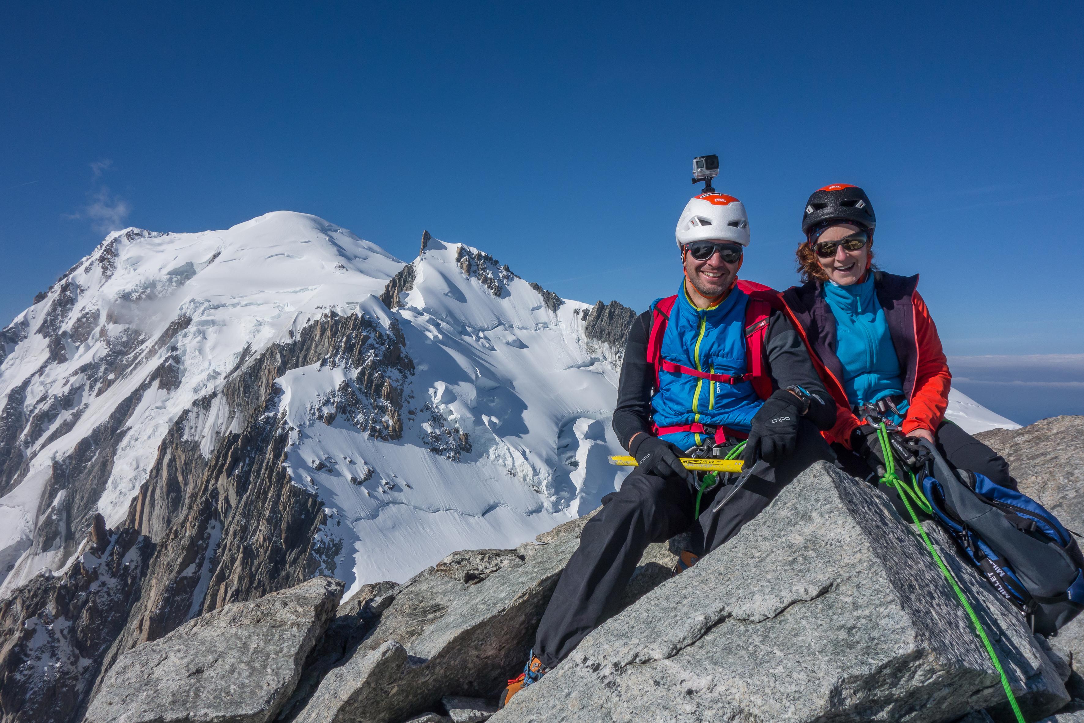 Sommet du Mont-Blanc du Tacul