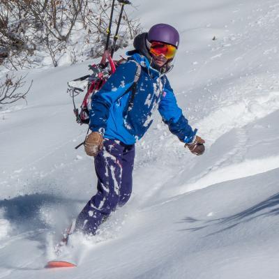 Snowboard hors_piste