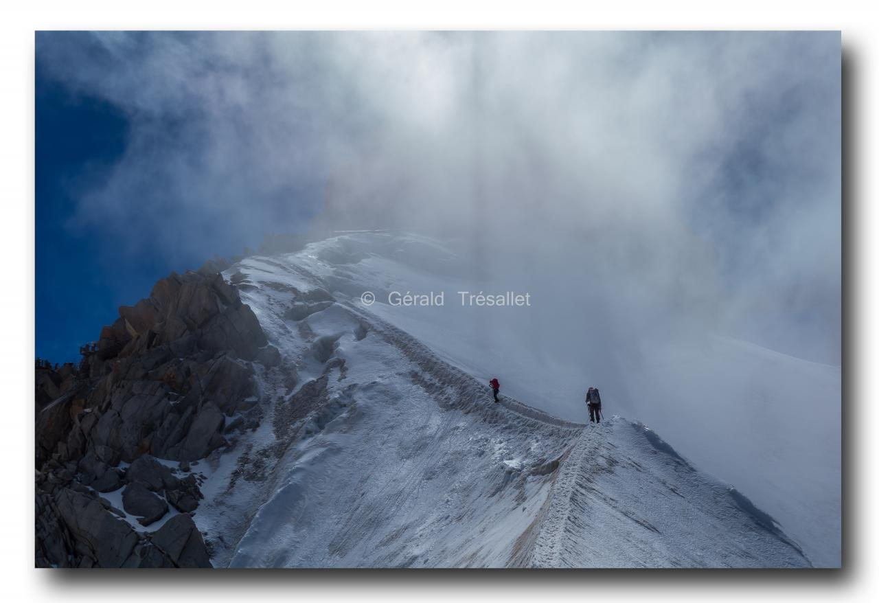 Arête de l'Aiguille du Midi