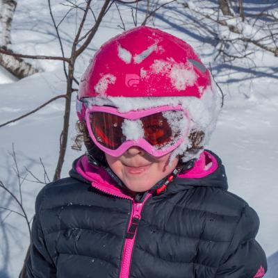 Les joies du ski.