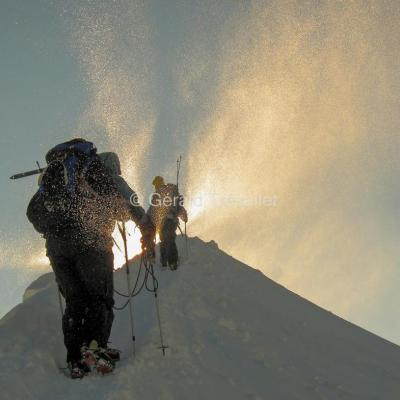 Près du sommet