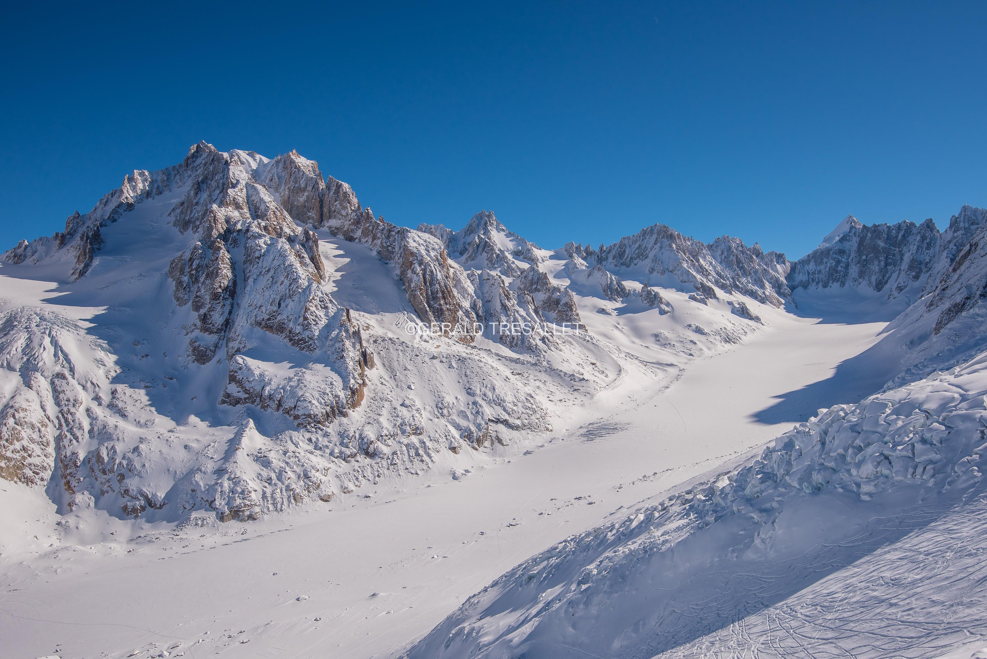 Glacier et Aiguille d'Argentière - Nik 0898