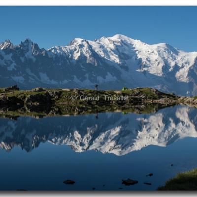 Mont-Blanc vu des Cheserys